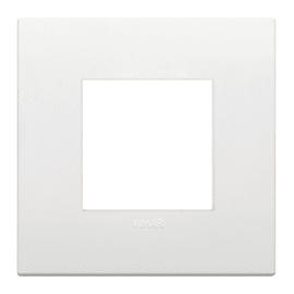 Placca 2 moduli Vimar Arkè bianco