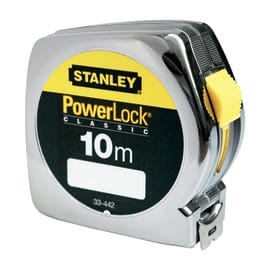 Flessometro Stanley Powerlock da 10 m