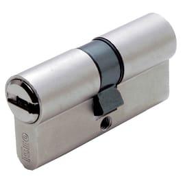 Cilindro sagomato europeo doppio profilo 60 mm, interasse A 26 mm B 25 mm