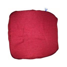 Cuscino per sedia con elastico Antonella rosso 40 x 40 cm