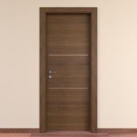 Porta da interno battente Tussauds Cacao 60 x H 210 cm dx