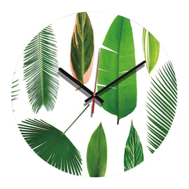 Orologio Green Leaf 34x34