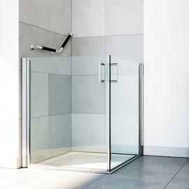 Box doccia rettangolare prezzi e offerte online leroy for Offerte cabine doccia leroy merlin