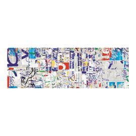 Piastrella Factory decoro 80 x 240 cm bianco