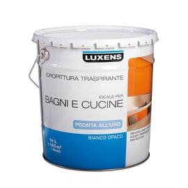 Idropittura traspirante bianca Luxens 14 L