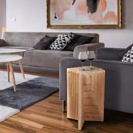 Base tavolo Multis legno Ø 43,5 x H 75 cm