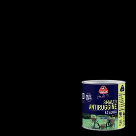 Smalto per ferro antiruggine nero satinato 0,5 L