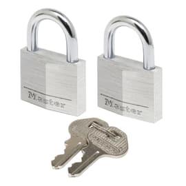 2 luchetti rettangolari a chiave arco standard 30 mm