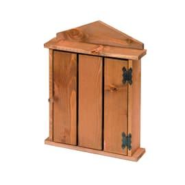 Bacheca porta chiavi 5 posti ciliegio 21,5 x 5,5 x 29 cm