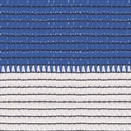 Rete ombreggiante Soleado Sport a strisce orizzontali bicolore bianco e blu L 5 x H 1 m