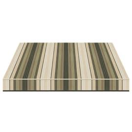 Tenda da sole a caduta cassonata Tempotest Parà 240 x 250 cm avorio/beige/marrone/verde Cod. 5011/7