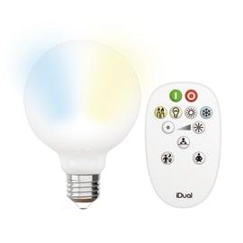 Lampadina LED E27 =60W globo luce CCT 360°