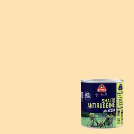 Smalto per ferro antiruggine avorio satinato 0,5 L