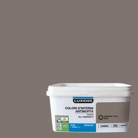 Idropittura lavabile Antimuffa Marrone Talpa 3 - 2,5 L Luxens