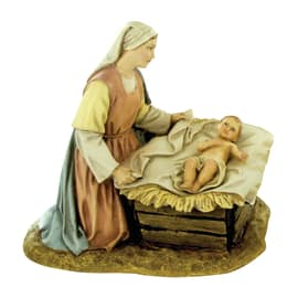 Madonna con Gesù bambino H 12 cm