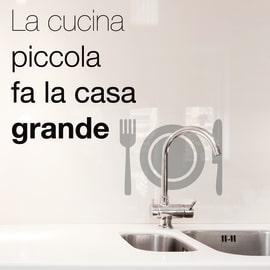 Sticker Words Up Kitchen Casa grande