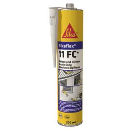 Sigillante poliuretanico Sikaflex 11 FC+ bianco Sika 300 ml, per cemento, vetri, metallo