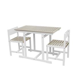 Set tavolo e sedie Balcony Grigio