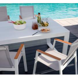 Set tavolo e sedie Venus bianco