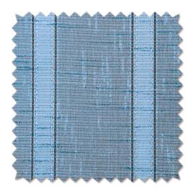 Tendina al taglio Boucle azzurro 80 cm