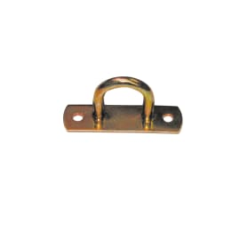 Cavallotto 65 x 20 mm, in acciaio zincato ad alta resistenza alla corrosione