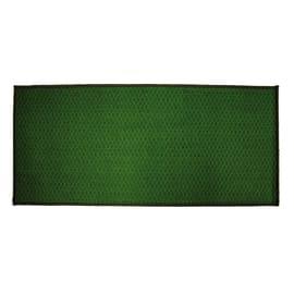Tappetino cucina antiscivolo Alice verde 57 x 230 cm