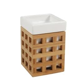 Bicchiere Fudji bianco/legno chiaro
