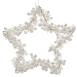 Stella bianca ø 15 cm