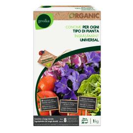 Concime universale per tutte le piante Organic Geolia 1 kg