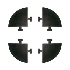 Kit 4 angolari per listone effetto legno