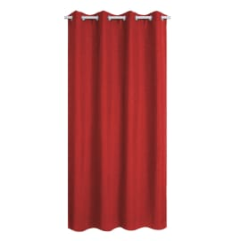 Tenda Cardiff Inspire rosso 140 x 280 cm
