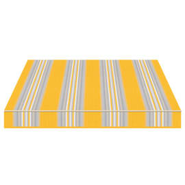 Tenda da sole a caduta cassonata Tempotest Parà 240 x 250 cm avorio/azzurro/giallo Cod. 636/12