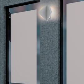 Applique Kite bianco L 17,5 x H 19,7 cm