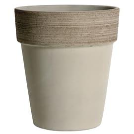 Vaso Alto Vulcano ø 23 cm grigio