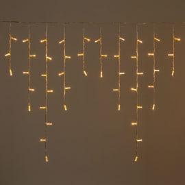 Tenda luminosa 120 maxilucciole Led classica gialla 3 m