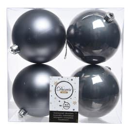 Box sfere grigio antracite ø 10 cm
