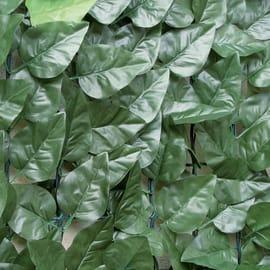 Siepe artificiale Divy Laurus L 3 x H 1 m