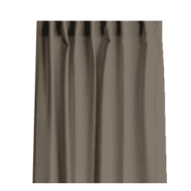 Tenda Lino passanti nascosti e fettuccia ecru 140 x 280 cm