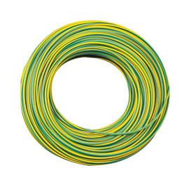 Cavo unipolare FS17 450/750V Lexman 1,5 mm giallo/verde, matassa 25 m