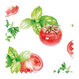 Tessuto su ordinazione Samarcanda pomodori rosso