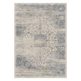 Tappeto Vintage azzurro 160 x 230 cm