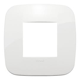 Placca 2 moduli Vimar Arké bianco