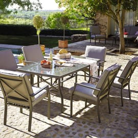 Set tavolo e sedie Roma