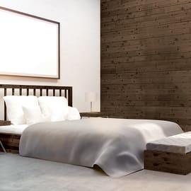 Perlina prima scelta abete verniciato spazzolato noce antico 12 x 120 x 2000 mm