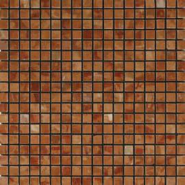 Mosaico 30 x 30 cm rosso