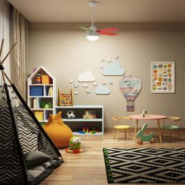 Ventilatore da soffitto con luce Lombarde