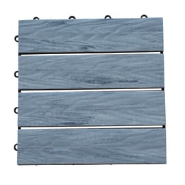 Piastrella 30 x 30  cm x 25  mm grigio