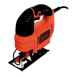 Seghetto alternativo Black & Decker ad azione pendolare KS701PEK-QS, potenza 520 W