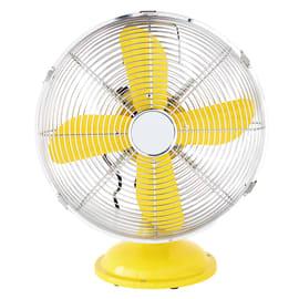 Ventilatore da tavolo Equation Mini Cooma giallo