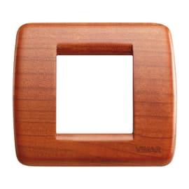 Placca 2 moduli Vimar Idea ciliegio